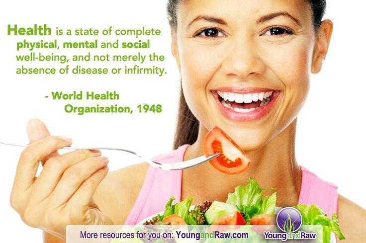 W.H.O. - Definition of health