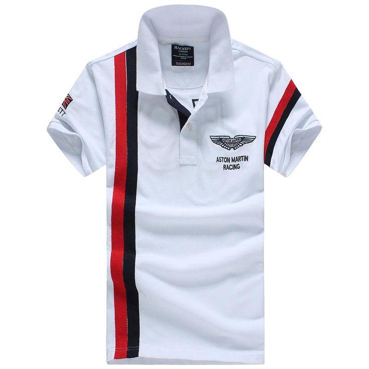 Hackett t-shirts for men, short sleeve cotton polos tshirts