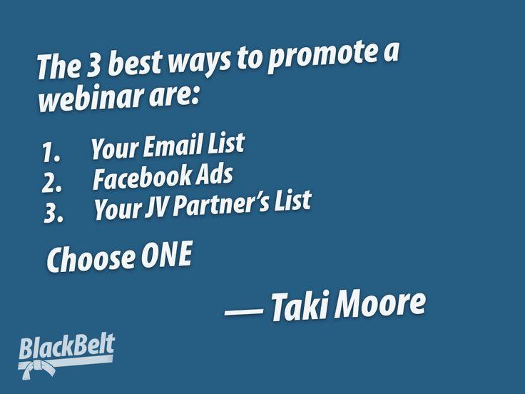 What Is The Best Marketing Channel For Your Webinar? http://bit.ly/1WLFO4I  #Webinar #InternetMarketing #BusinessCoaching