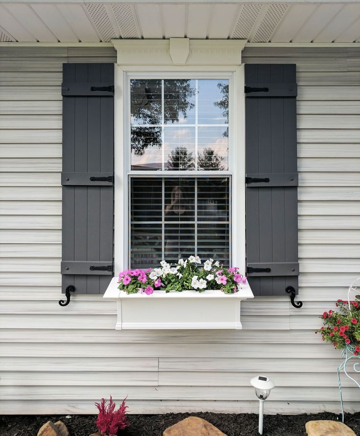 Best 20 exterior shutters ideas on pinterest no signup - Exterior board and batten spacing ...