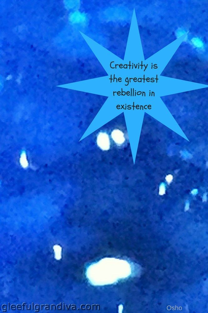 HOW TO USE CREATIVITY TO INCREASE JOY AND LOSE ANXIETY - gleeful grandiva