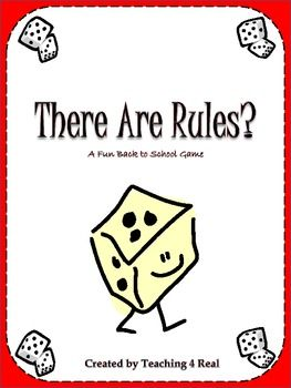 Back To School Rules Game: Establishing Classroom Management Establishing rules is the single most important thing you do at the beginning of t...Established Classroom, Schools Ideas, Rules Games, Classroom Management, First Day Of Schools Games, Schools Rules Activities, Classroom Rules, Schools Years, Back To School