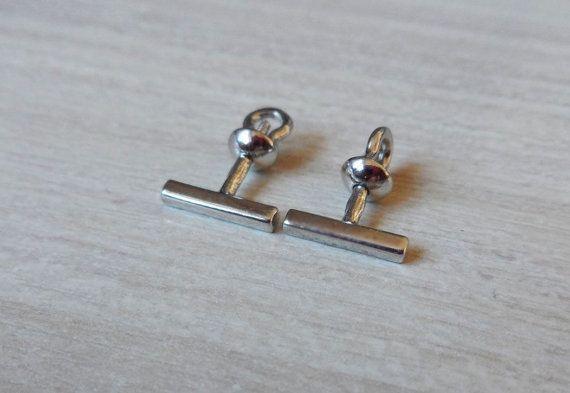 Silver Stud Earrings Studs Stick, Stick Earrings, Bar Earrings, Everyday Earrings, Sterling Silver Posts,Minimal Earrings,Geometric Earrings