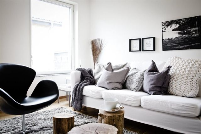 Like the pillows to soften the couch