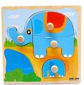 Knoppussel Elefant