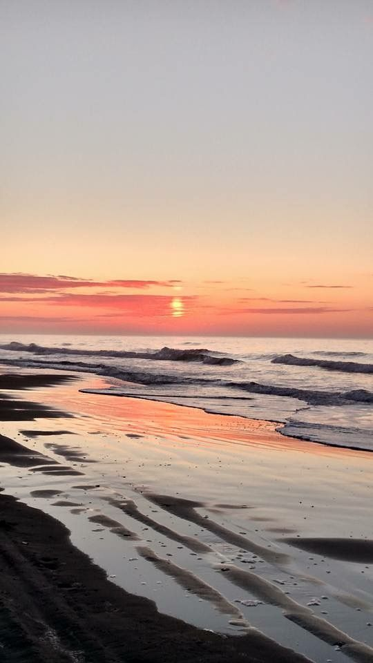 Emerald Isle, NC is home to some amazing sunset views. Does it get better than this view from the beach?