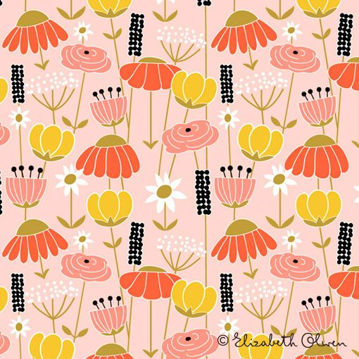 Elizabeth Olwen: Pattern Design