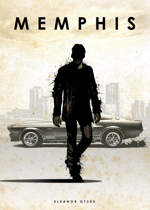 Memphis (Gone in 60 Seconds) Car Legends by Eddie Rock