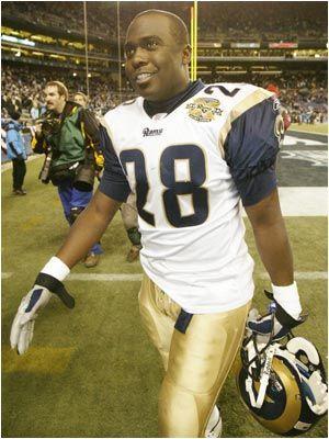 Marshall Faulk, St. Louis Rams. Class of 2011.