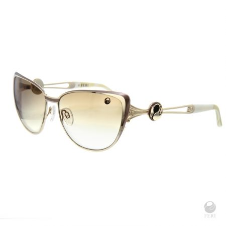 FERI Kyoto Gold Shields - Gold coloured steel frame - Gold Lens design - Acetate and metal construction with gold tone embellishment - Lenses are UV 400 and provide protection against harmful UV rays - Acetate is a hypo allergenic plastic - Acetate is used for its shine, color depth and durability  Invest with confidence in FERI Designer Lines.  www.gwtcorp.com/ghem or email fashionforghem.com for big discount