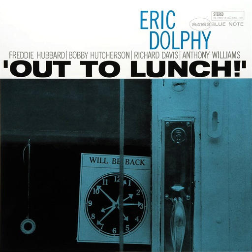 ERIC DOLPHY / OUT TO LUNCH!