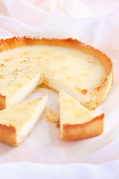 White Chocolate Panna Cotta Tart