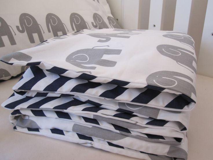 Baby Cot Set - Doona Cover(Duvet) with matching pillow case - crib bedding by LiddleBerry on Etsy