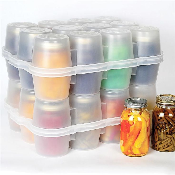 Specially designed; protects against breakage, dirt, pests. Holds up to 12 quart jars.