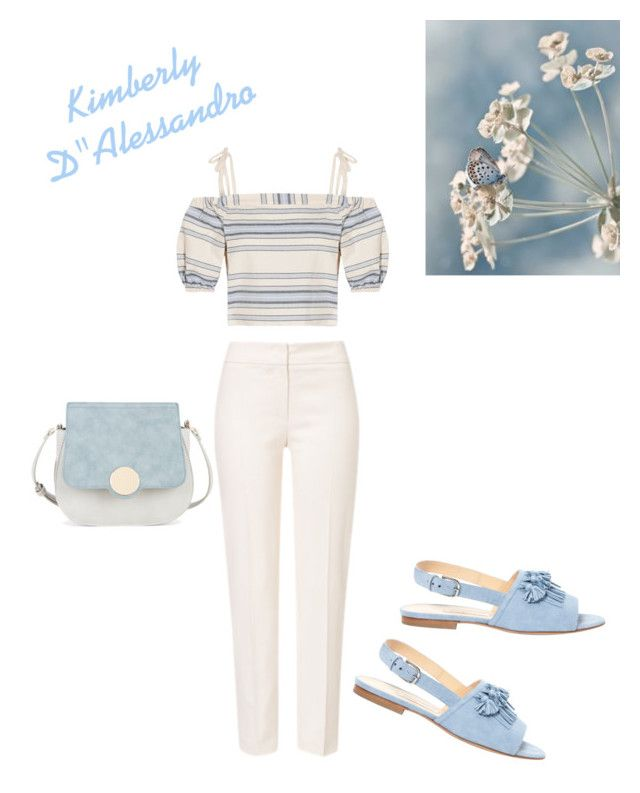 Having The Blues On A Beautiful Spring Day by kimberlydalessandro on Polyvore featuring polyvore, fashion, style, Lemlem, ESCADA, Bionda Castana, Sole Society and clothing