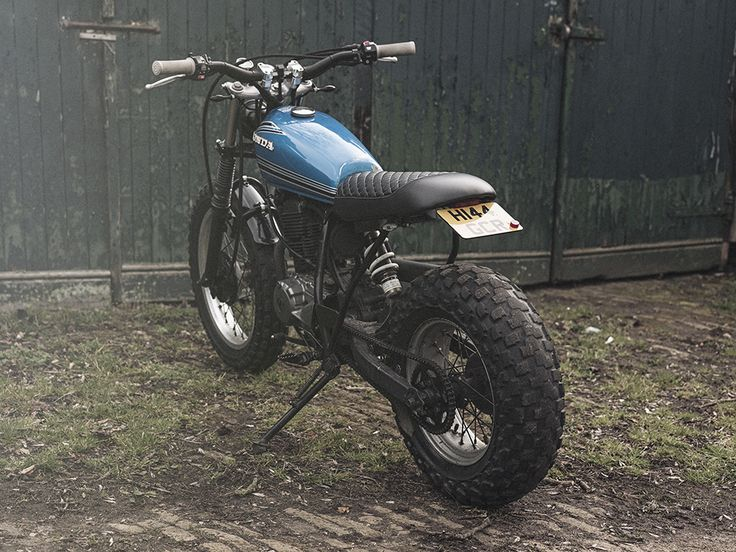 TW200 Custom by Inglorious Motorcycles