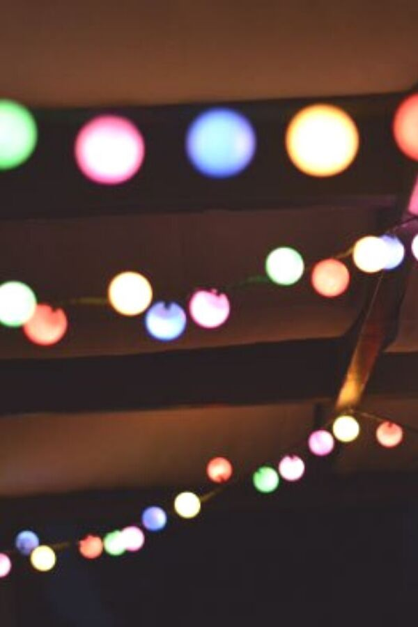 16 Ways to Reuse Christmas Lights Decor on a Budget in 2020