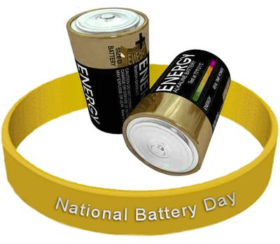 February 18 is...National Battery Day! Where would we be without the humble battery? Take a few moments to ponder how many items in the average household require batteries. Then, think outside the house. Or, maybe simply consider what the world would be like had the invention of batteries never materialized.