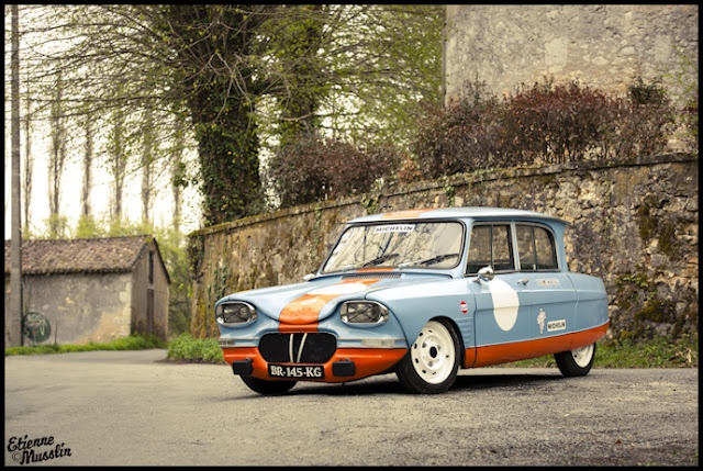 Citroen Ami 6 - One of the strangest car ever!