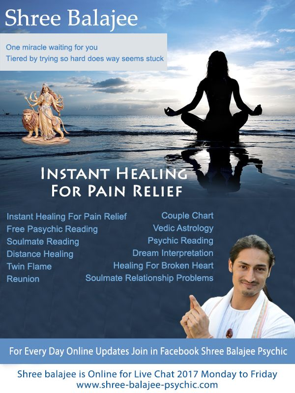 Instant Healing For Pain Relief