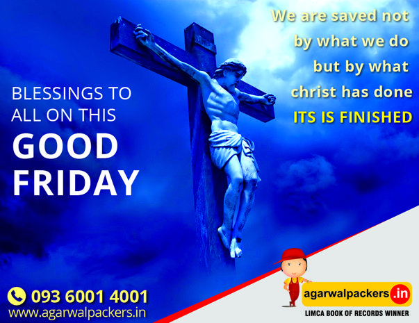 May the light of the Lord's love shine on you and Brighten Your Heart on this Holy Day. Happy Good Friday, everyone. Have a wonderful Easter weekend! #goodfriday #easter #prayer #Catholic #holyweek #JesusCalling #rememberFriday #drsgroup #agarwalpackers #agarwalpackersandmovers #india #SafeRelocation #Household #Transportation #Relocation #Shifting #Packers #Movers #Agarwal #Residential #Offering #Householdpackers…
