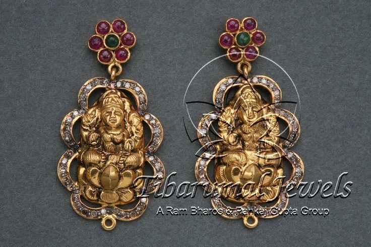 EAR TOPS   Tibarumal Jewels   Jewellers of Gems, Pearls, Diamonds, and…