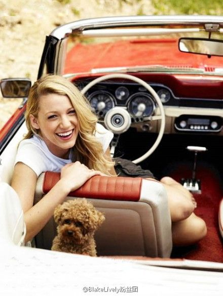 Blake Lively. And cute Penny ;)