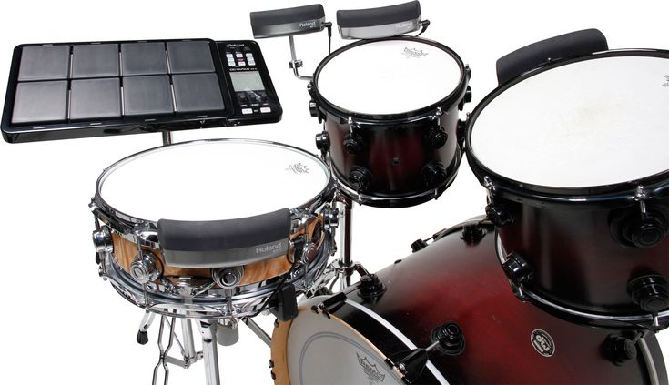 BT-1 Bar Trigger Pad: Versatile add-on trigger pad for acoustic drum kits and V-Drums kits.  http://www.roland.co.uk/products/productdetails.aspx?p=1259