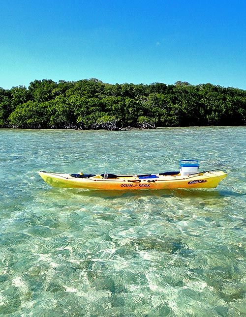Ocean Kayak Prowler 13, Vaca Key, The Florida Keys