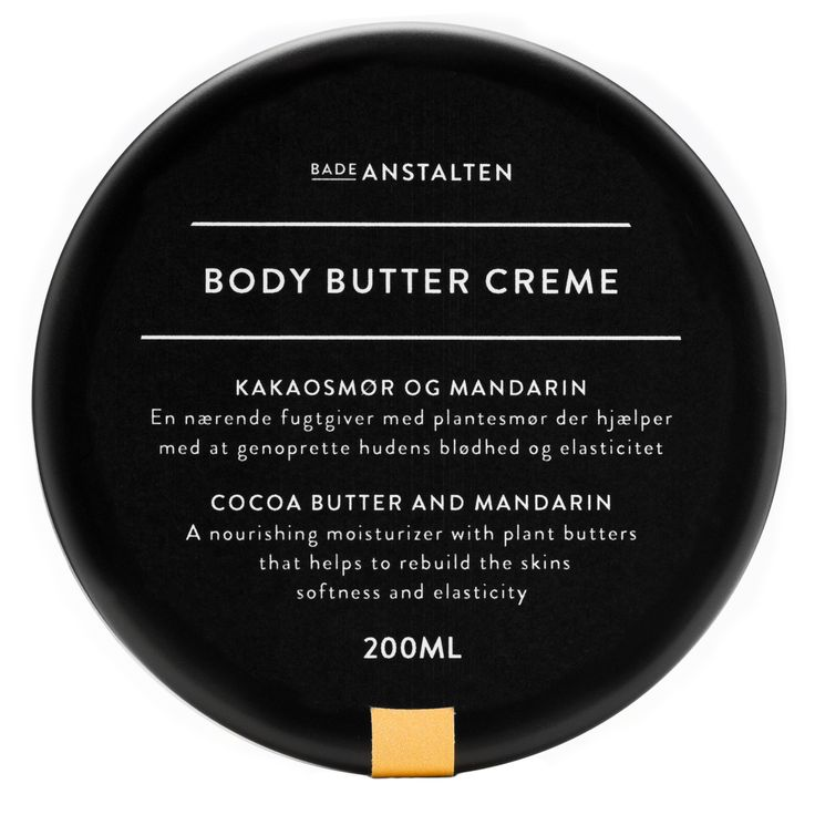 Body Butter Cream - Cocoa Butter and Mandarin