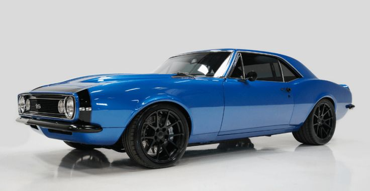 Superb 1967 Chevrolet Camaro SS Pro Touring Build