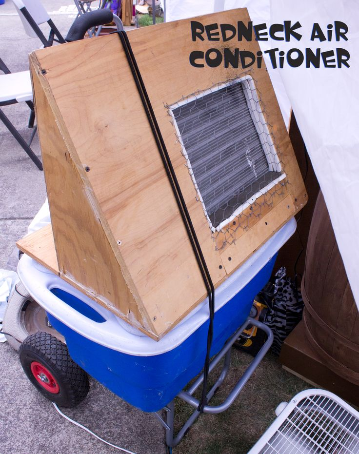 Love My Art Jewelry: Redneck Air Conditioner for Craft Fairs and Festivals