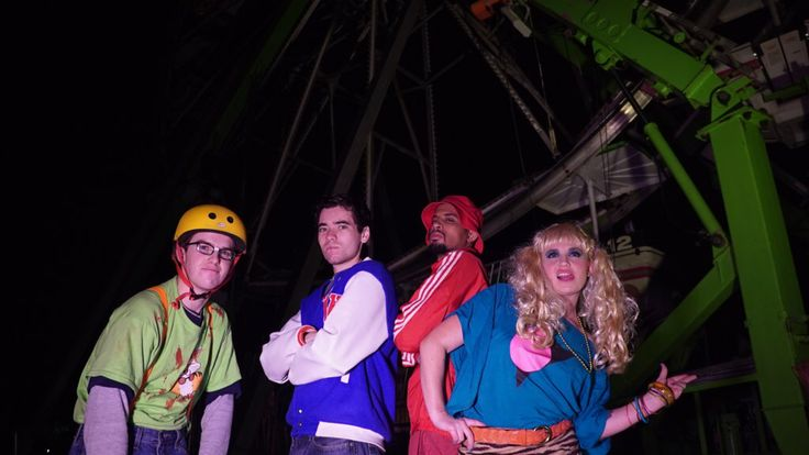 Zombies in Spaceland (In Real Life) by V2rocketproductions on @DeviantArt
