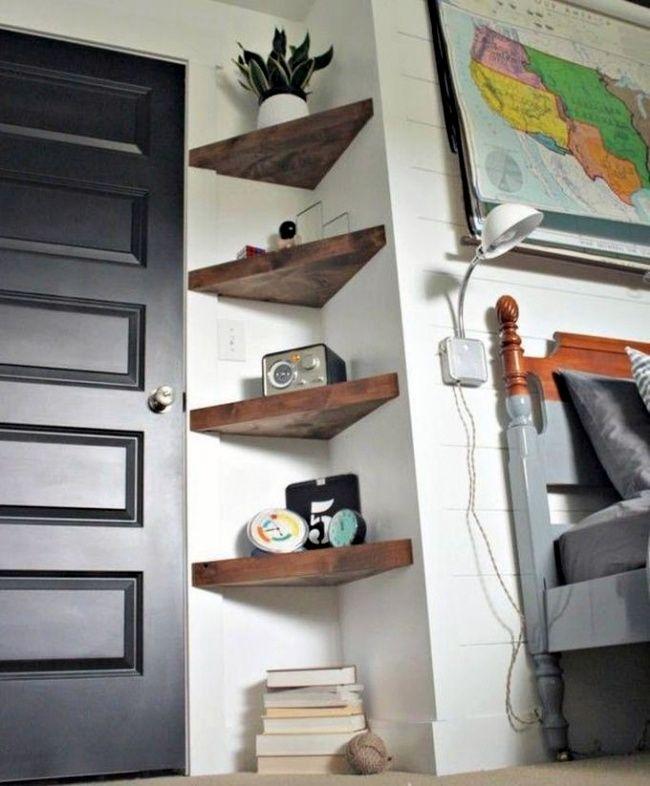 Evinizdeki Köşe Alanları Nasıl Kullanabileceğinizi Gösteren 7 Harika Ev Tasarımları