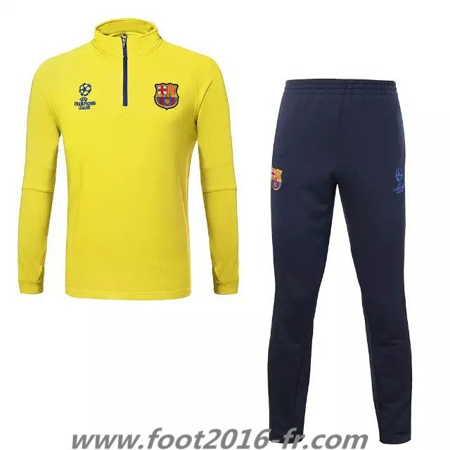 Boutique official le nouveau survetement de club barcelone jaune 2015 2016 pa - Boutique londres pas cher ...