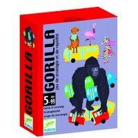 Gorilla, gyorsasági kártyajáték 5 éves kortól - DjecoHívd játszani a nagyit! Vidám gyorsasági kártyajáték.Jó megfigyelőképességre és gyors reakcióra van