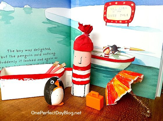 Lost and Found book craft for kids