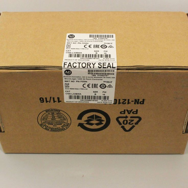 Allen Bradley 1766-L32BWA Micrologix 1400 Controller Ser B