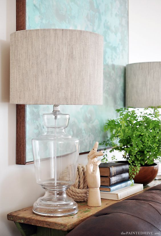 Playing Vignettes   Sofa Table Styling
