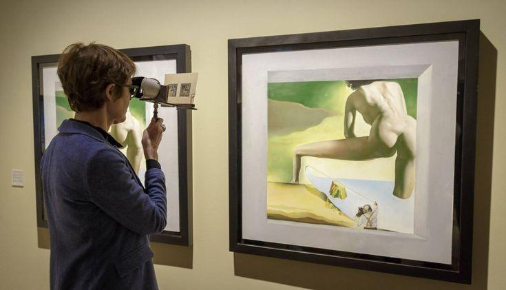 O fascínio de Salvador Dalí era criar ilusões de ótica e a partir desse foco criou pinturas tridimensionaishttp://www.pan-horamarte.com.br/blog/o-fascinio-de-dali-pela-pintura-em-tres-dimensoes/
