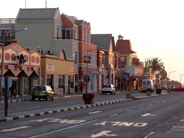 Swakopmund Shopping Street   Recent Photos The Commons Getty Collection Galleries World Map App ...
