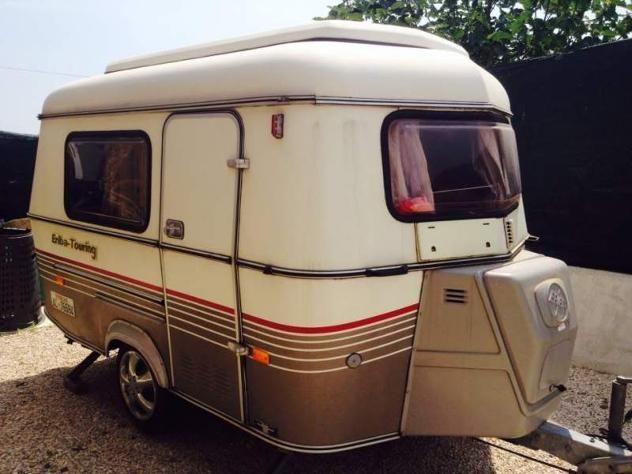 Roulotte Eriba touring puck - camper - caravan - roulotte Roma