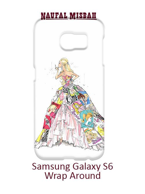 Barbie Cute In A Dress Samsung Galaxy S6 Case Cover