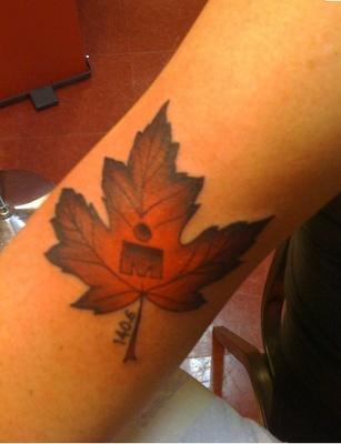 #ironman #tattoo