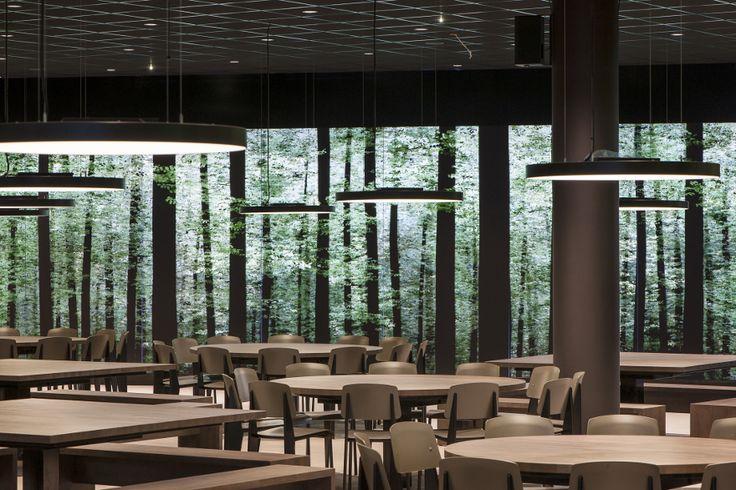 The Mensa, WU, Tzou Lubroth Architekten - Restaurant & Bar Design.  -WOW-