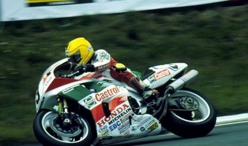 Joey Dunlop (Honda RC36), 1995 Isle of Man TT.