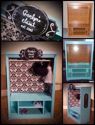 Dress Up Wardrobe Cabinet |