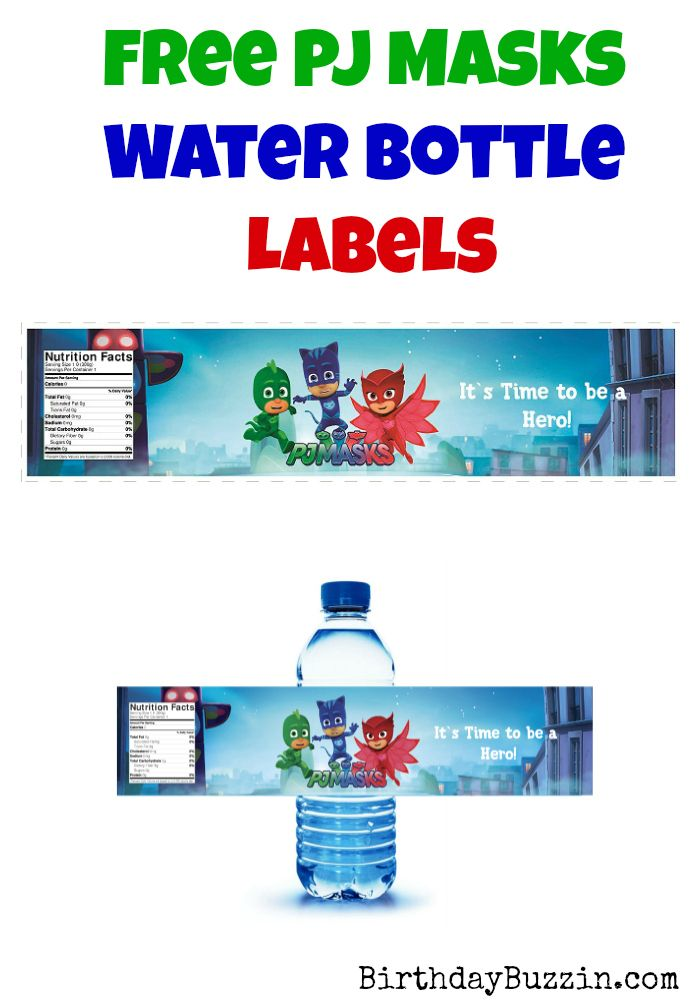 Best 25 Water Bottle Labels Ideas On Pinterest Free