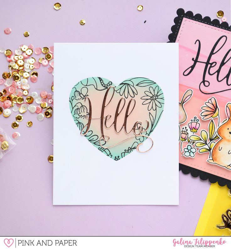 Spring cards with March Card Kit | Galina Filippenko