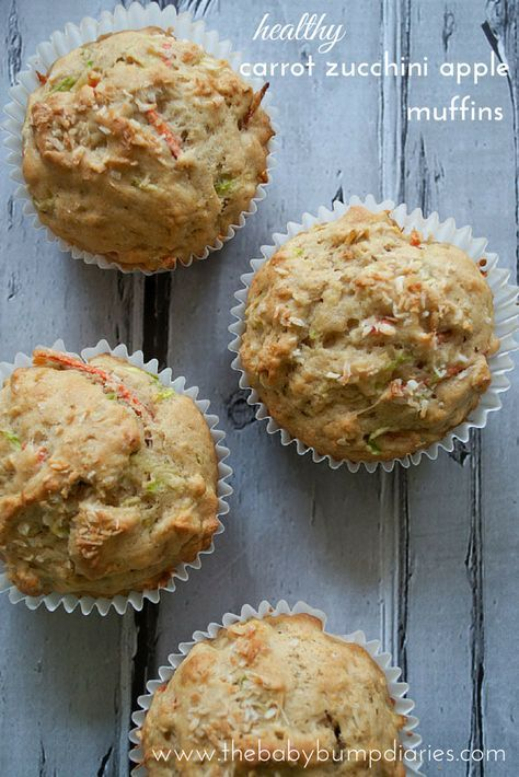 25+ best ideas about Apple zucchini muffins on Pinterest ...